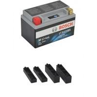 Lithium ION MC Batteri 12V 180CCA HJTX9 FP I